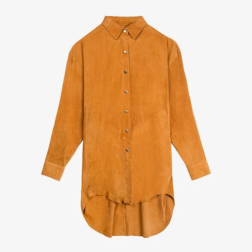Shirt Capra Mes Demoiselles color Camel