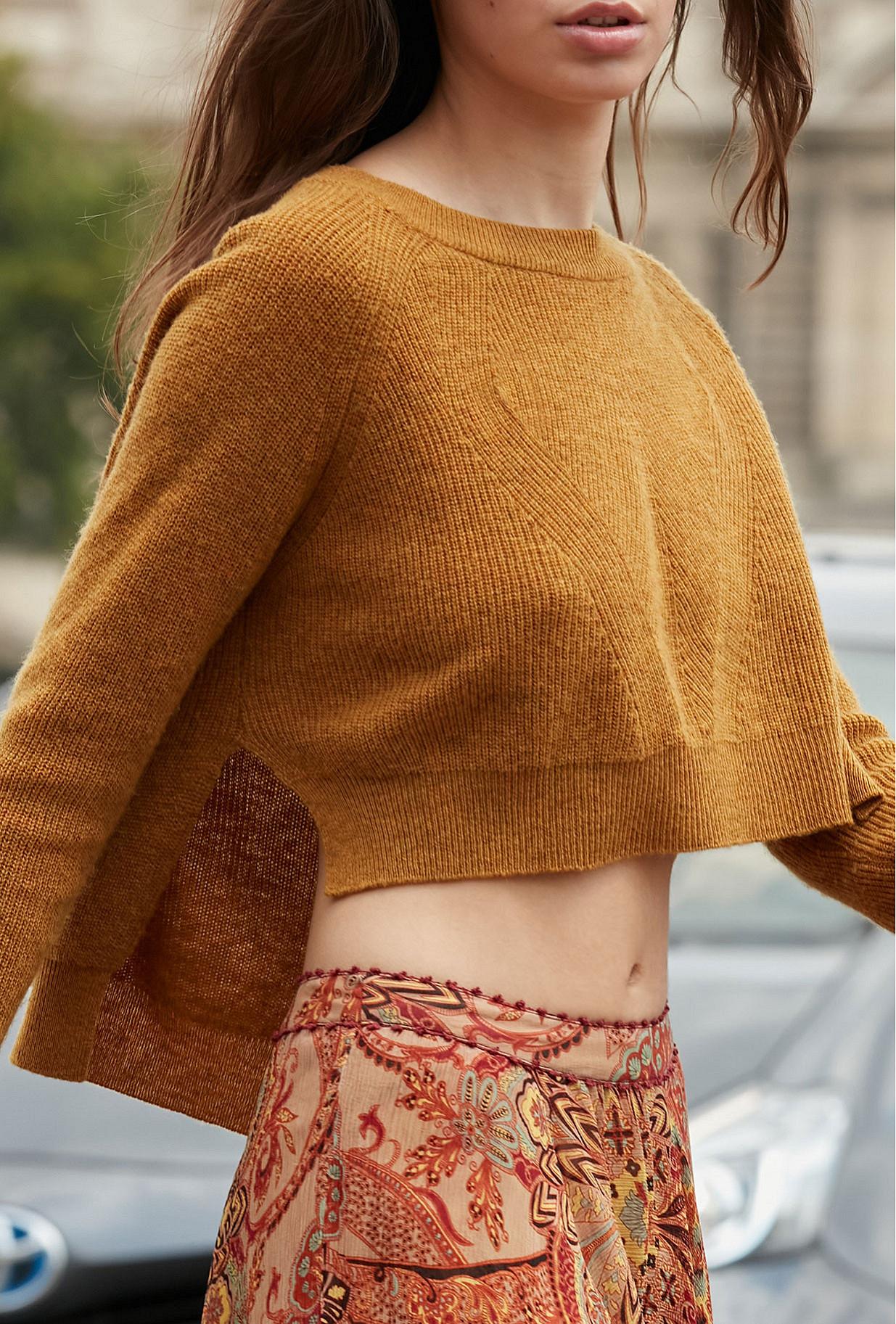 Sweater Dumas Mes Demoiselles color Ocre