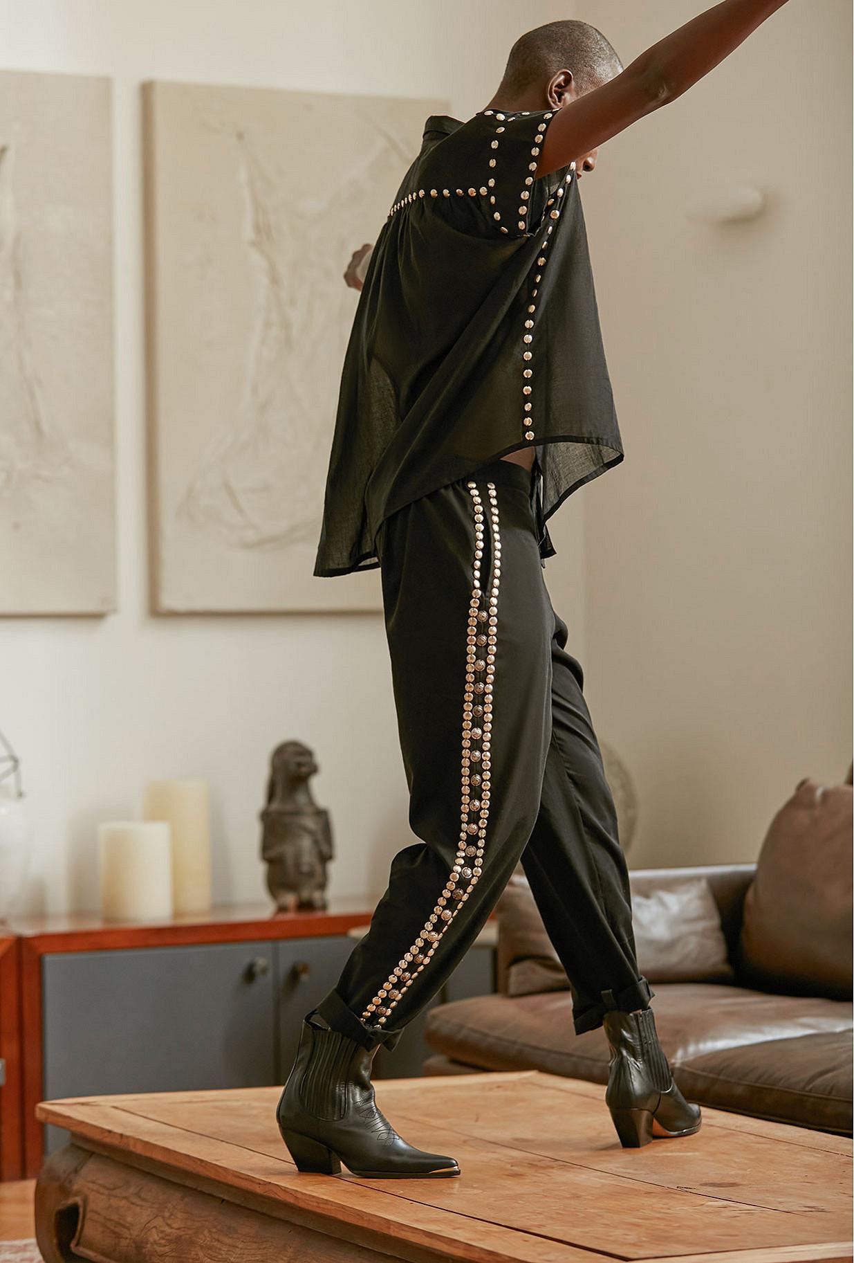 Black Pants Kimo Mes Demoiselles Paris