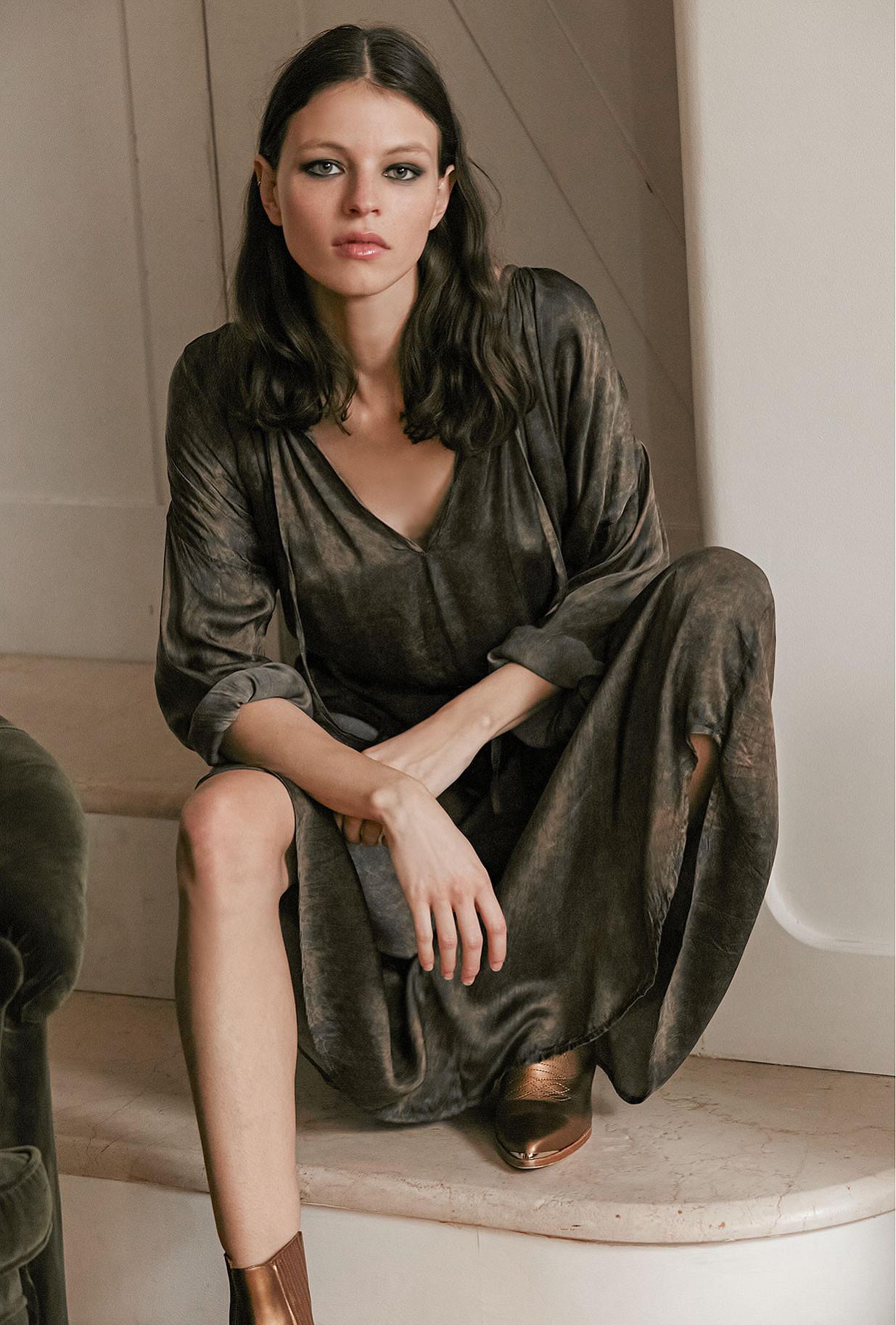 Robe Gris  Lerida mes demoiselles paris vêtement femme paris