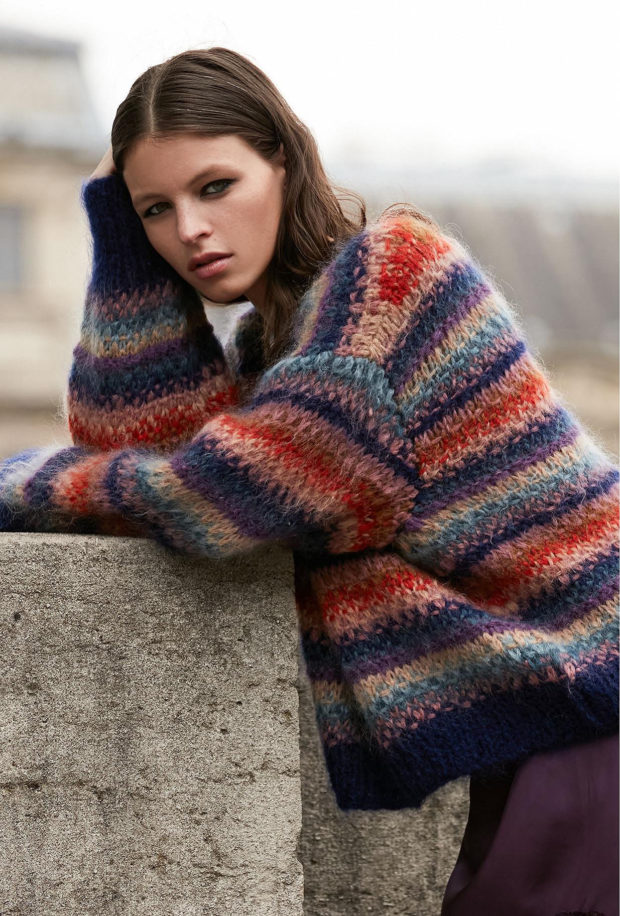 multicolor Sweaters Dolce Mes Demoiselles Paris