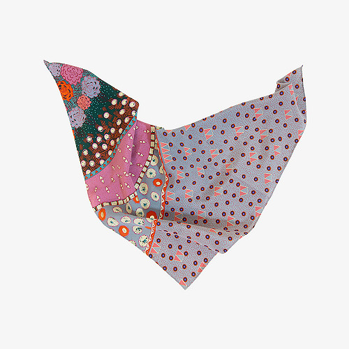 Scarf Anis Mes Demoiselles color Flower print