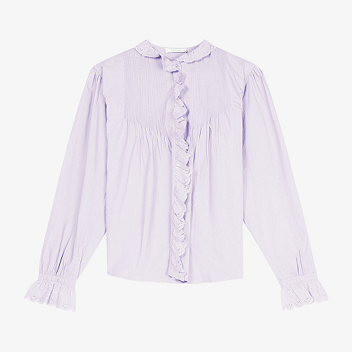 Shirt Casino Mes Demoiselles color Lila