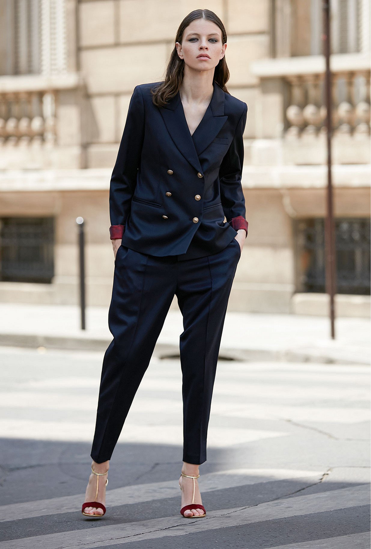 Navy Pants Constanzia Mes Demoiselles Paris