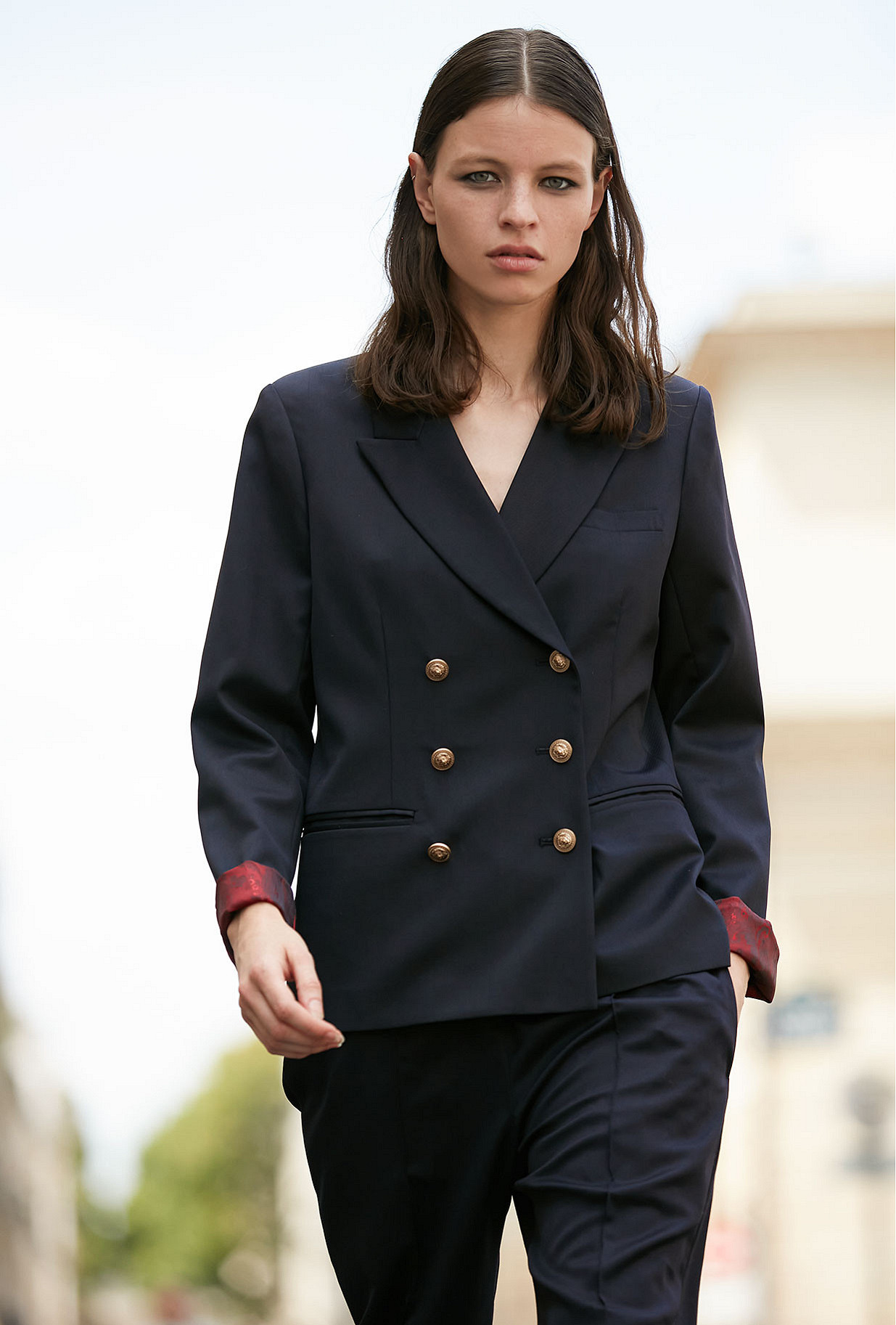 Navy Jacket Chancellor Mes Demoiselles Paris