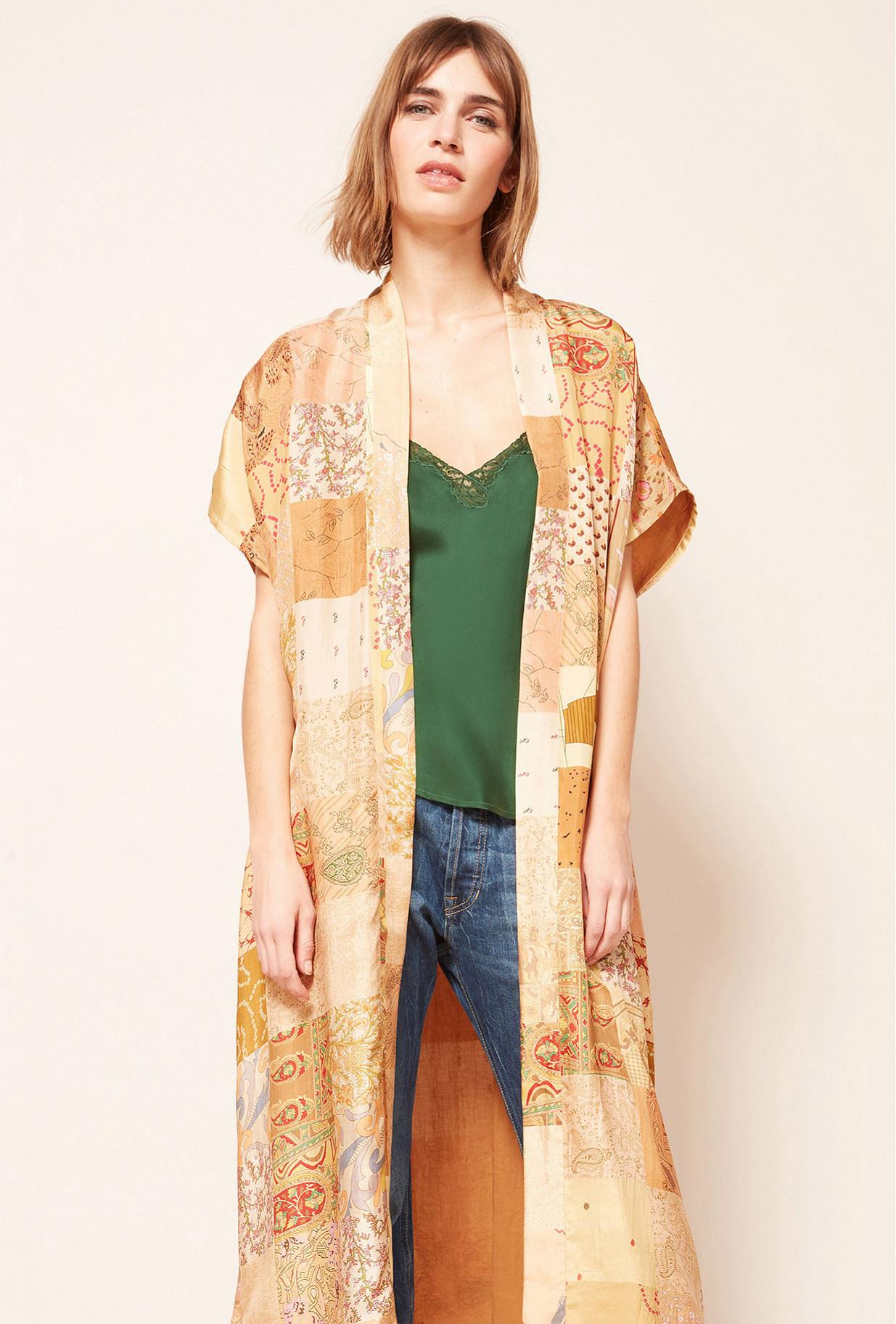 Kimono Imprimé fleuri Pachmina Mes Demoiselles Paris