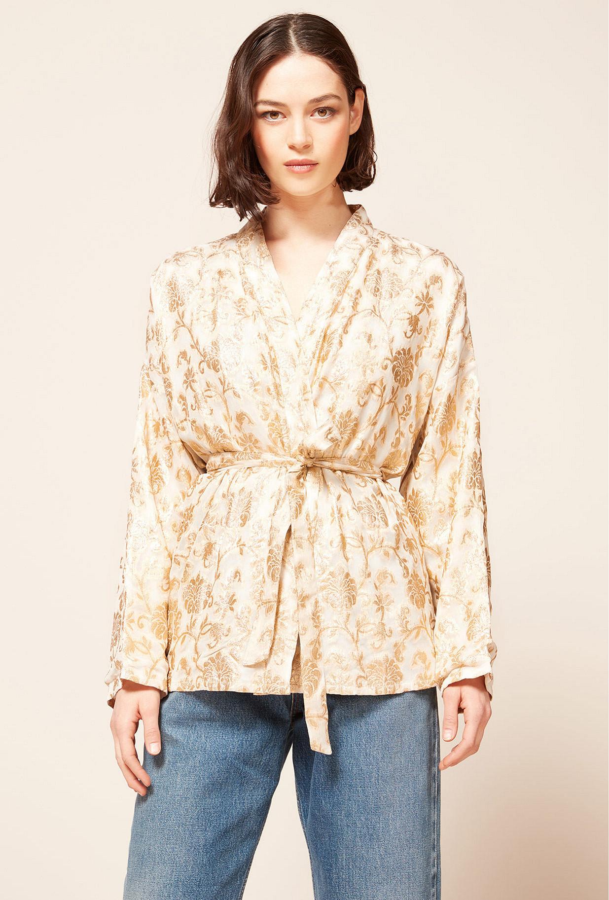Kimono Or Marignan Mes Demoiselles Paris
