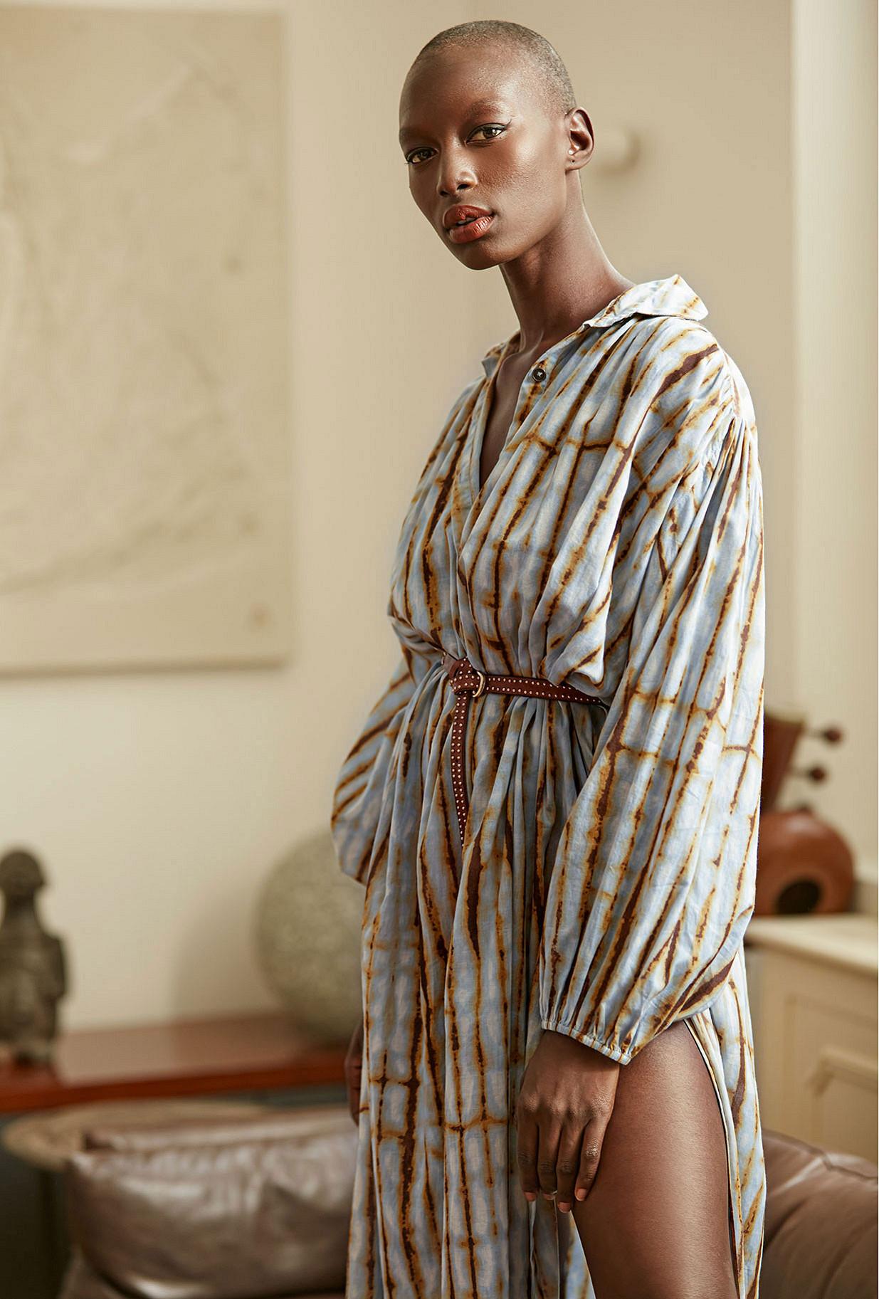 - Blue print - Dress Nirvana Mes Demoiselles Paris