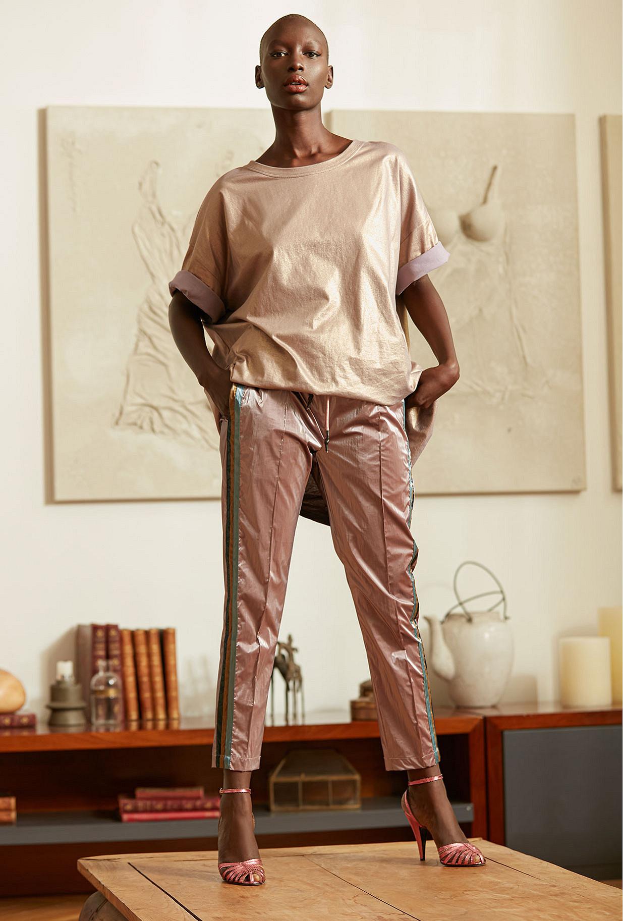 Pant Jeffery Mes Demoiselles color - Pink -