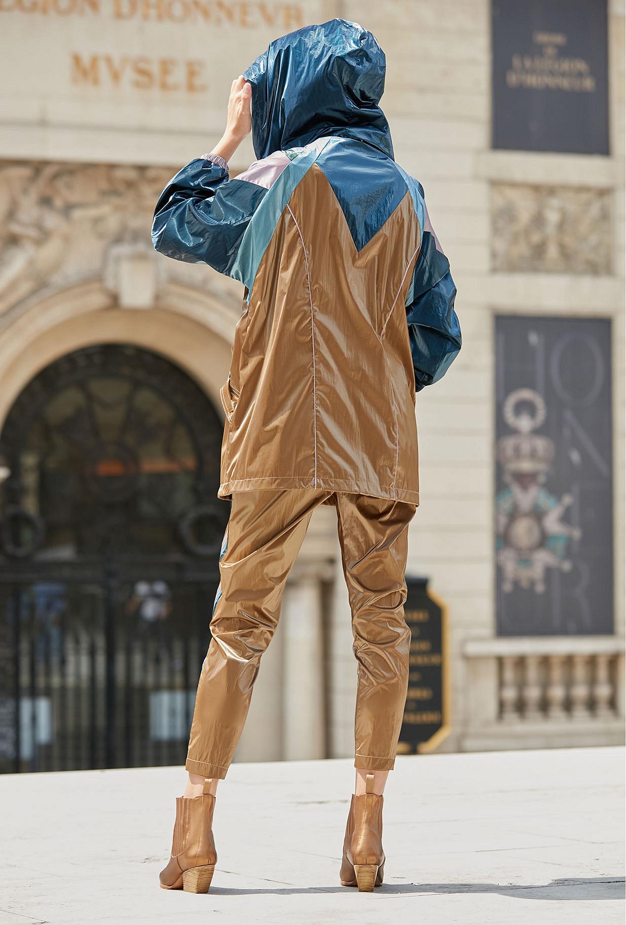 Pant Jeffery Mes Demoiselles color - Khaki -