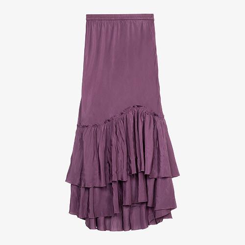 Skirt Silataf Mes Demoiselles color cassis