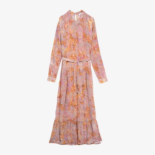 Dress September Mes Demoiselles color Taupe