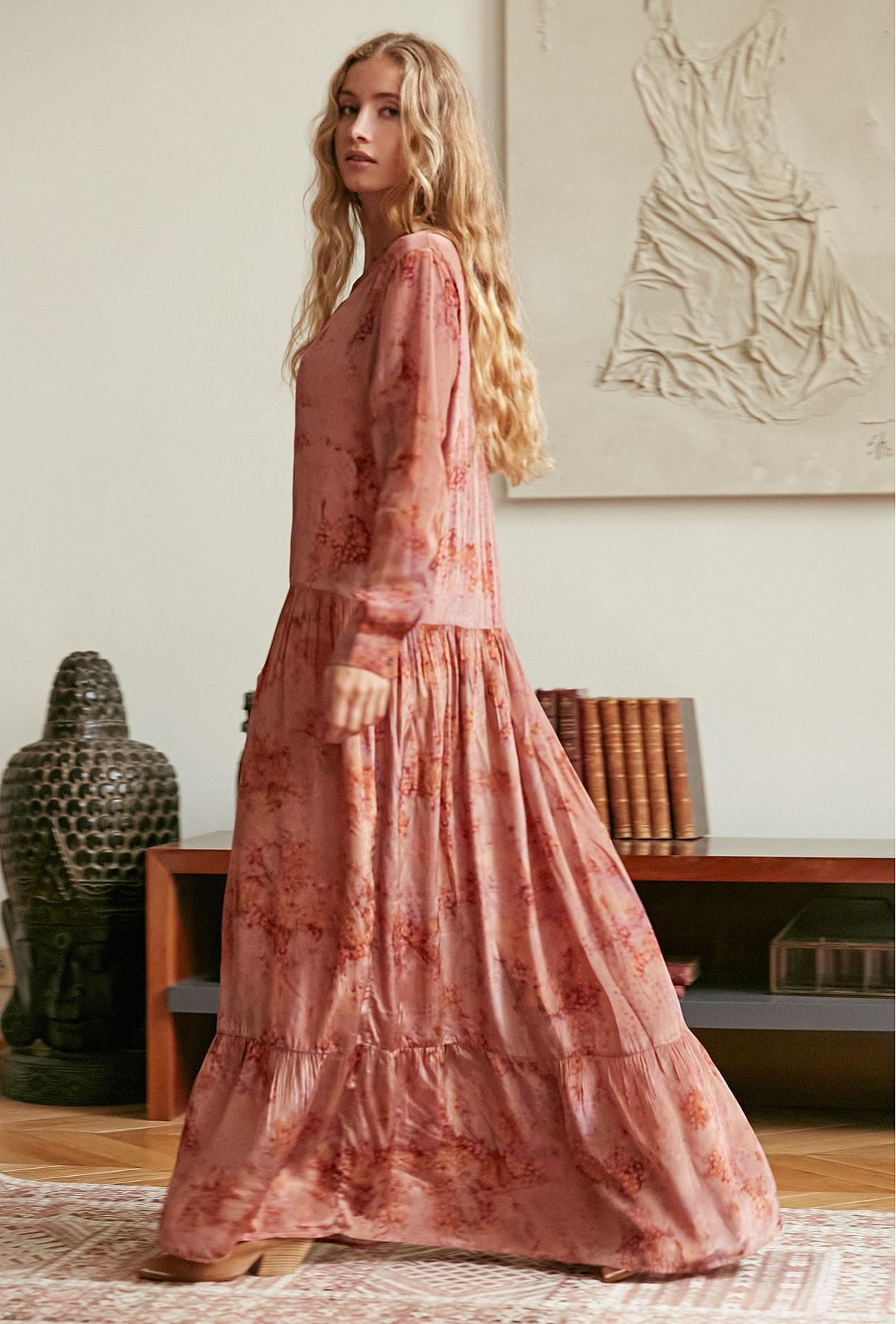 Terracotta Dress September Mes Demoiselles Paris