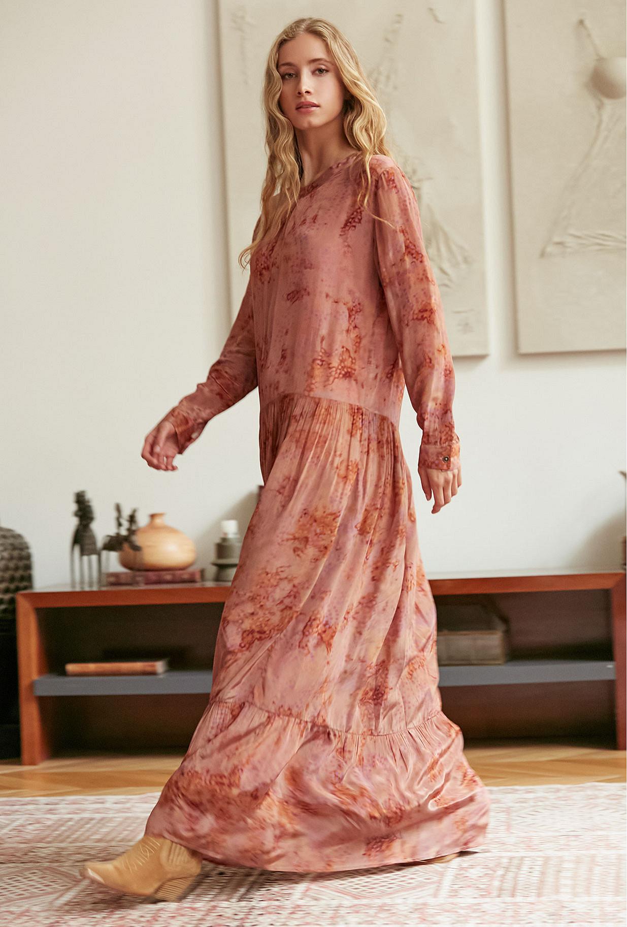 Robe September Mes Demoiselles coloris Terracotta