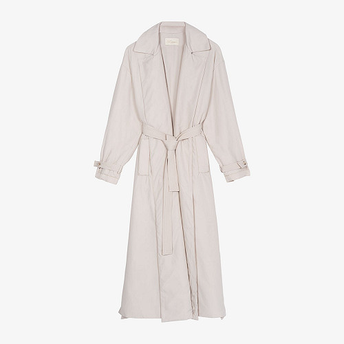 Coat Burburry Mes Demoiselles color Beige