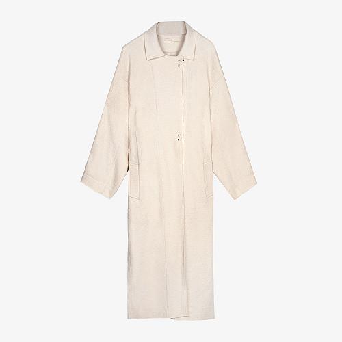 Coat Caribou Mes Demoiselles color Off white