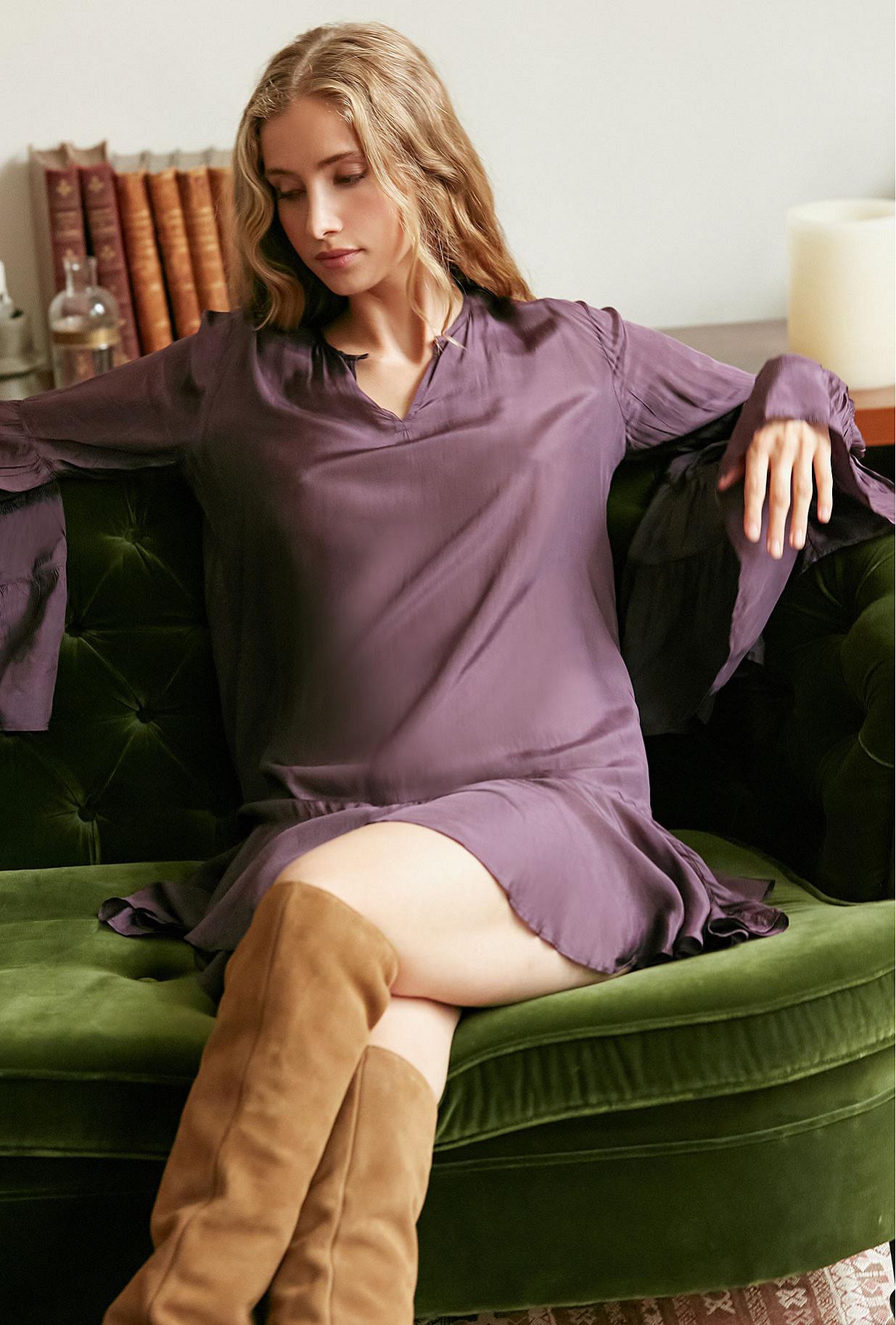 cassis Dress Stan Mes Demoiselles Paris