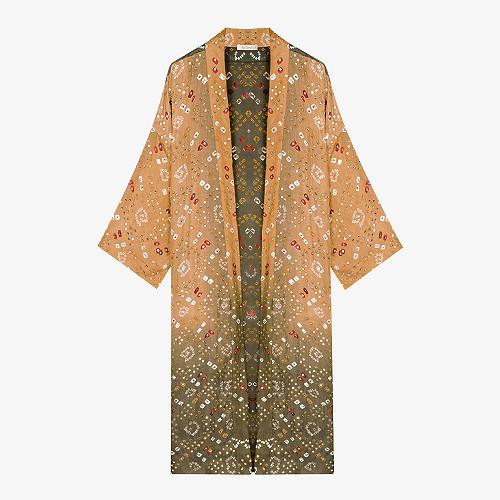 Kimono Imprimé khaki Crersus