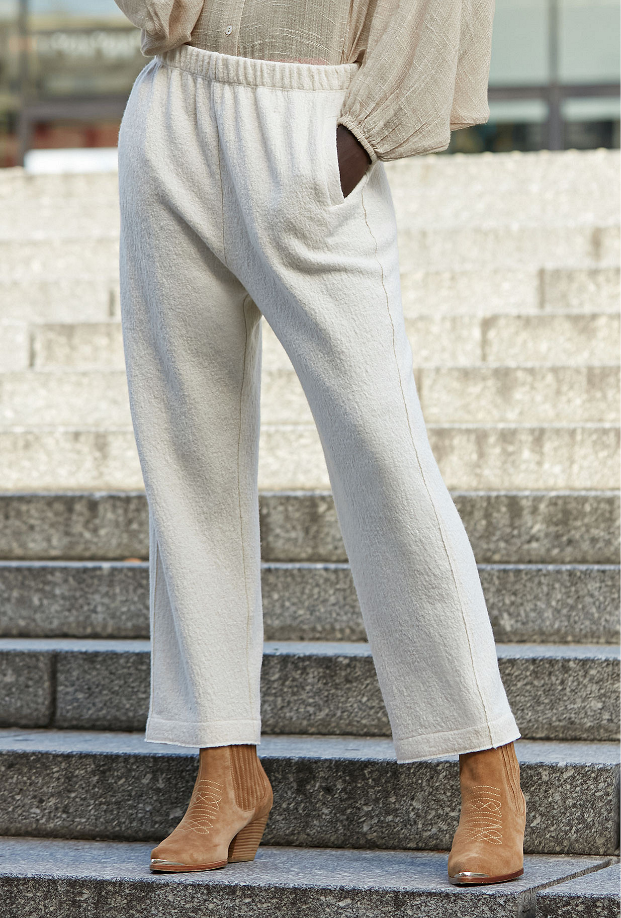 Off white Pants Feminalia Mes Demoiselles Paris