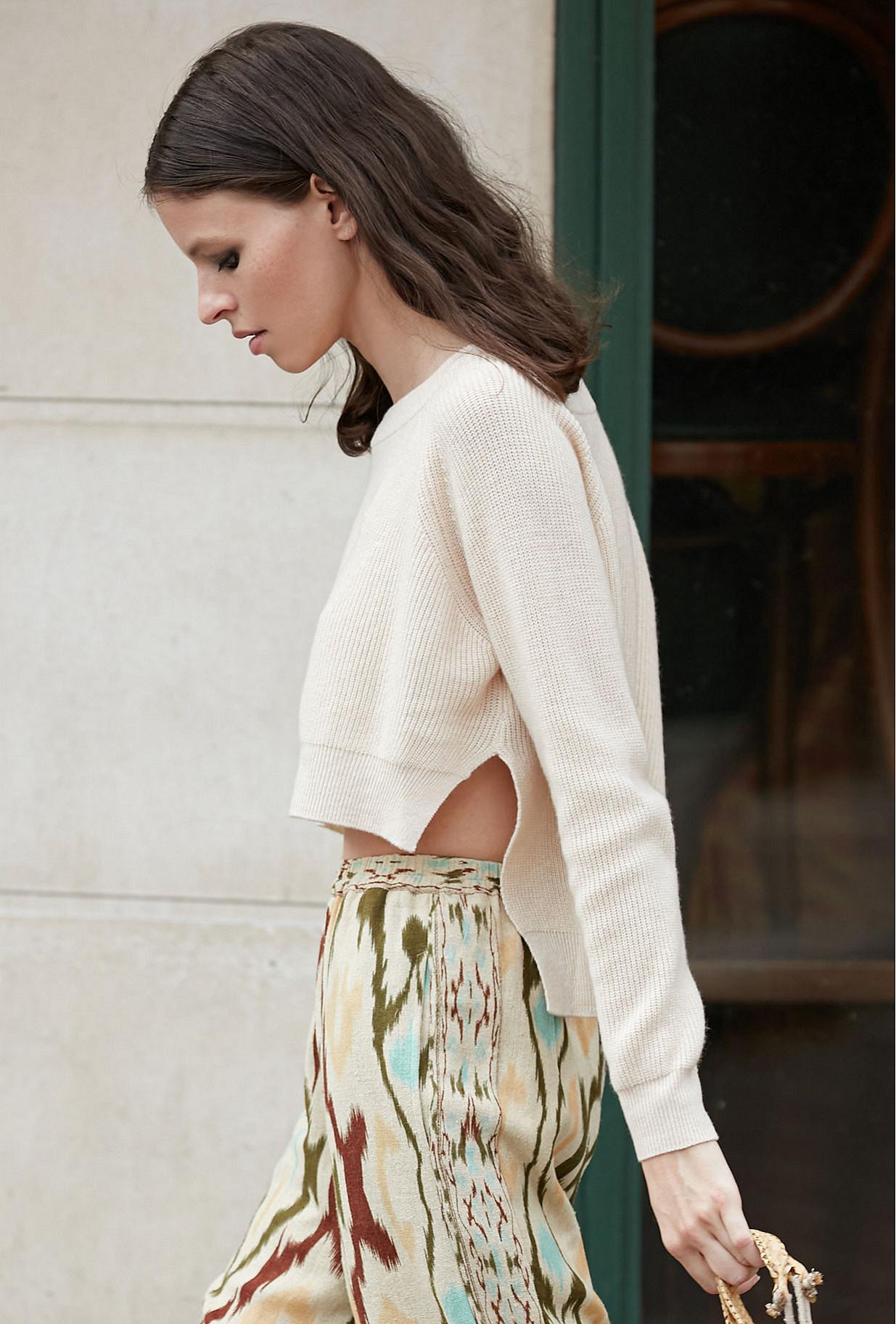 Sweater Dumas Mes Demoiselles color - Milk -