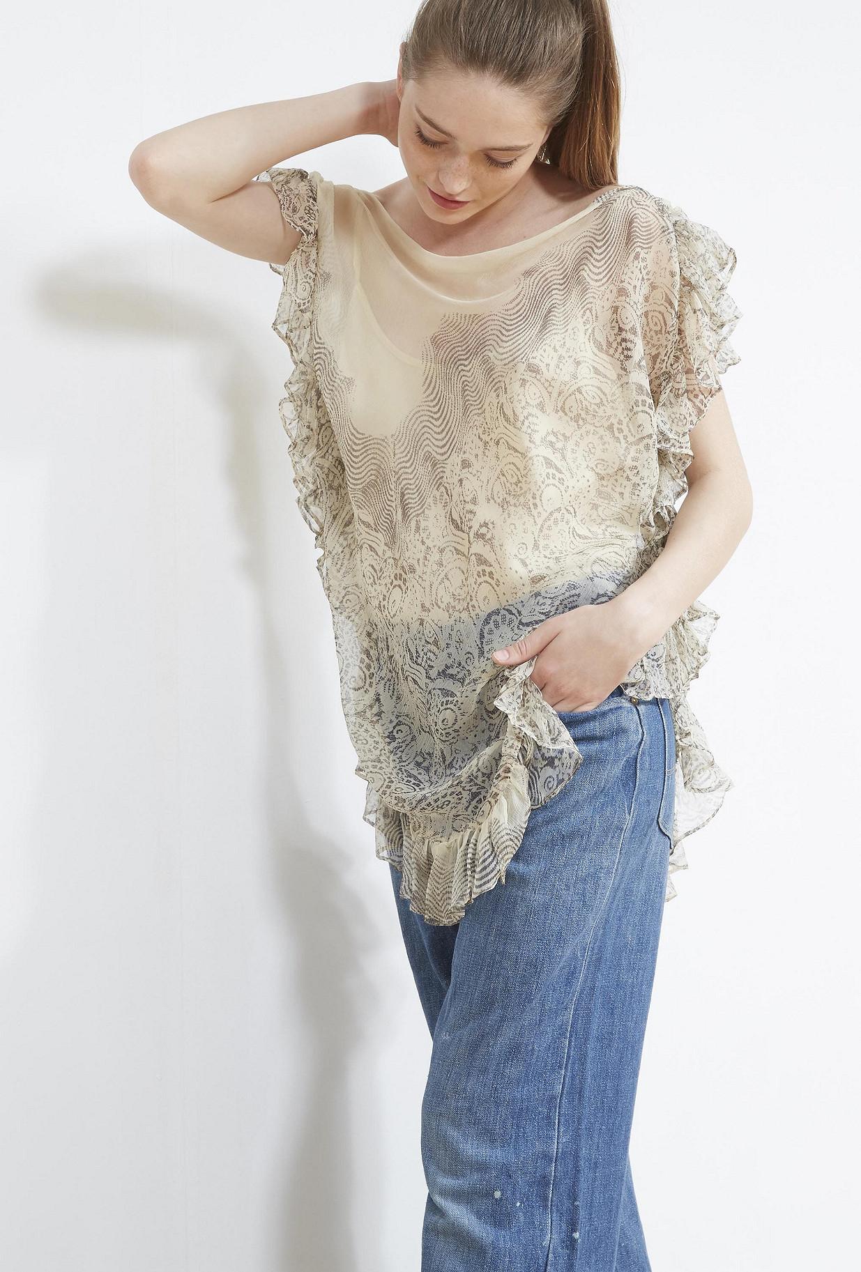 Ecru  SKIRT  Lili Mes demoiselles fashion clothes designer Paris