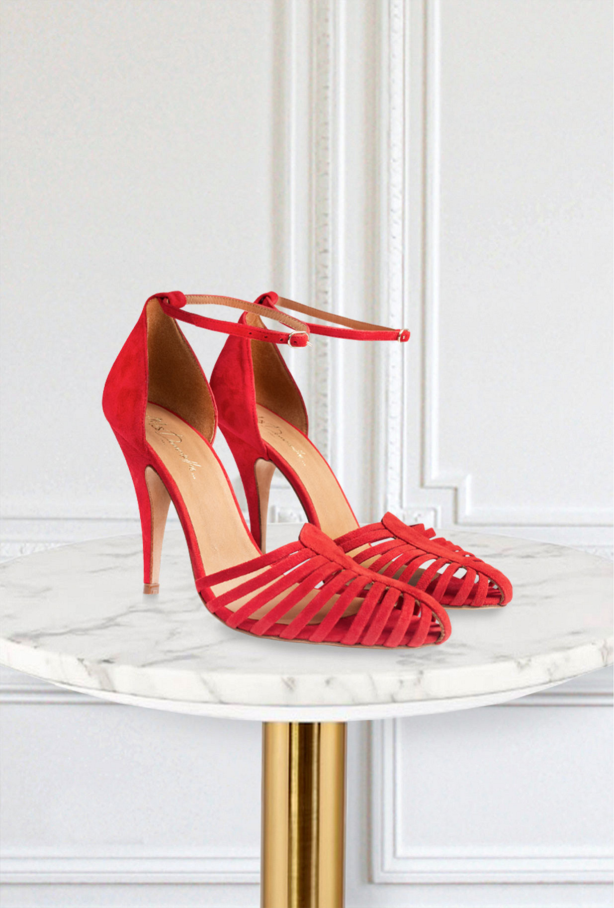 Red Pumps Venitiennes Mes Demoiselles Paris