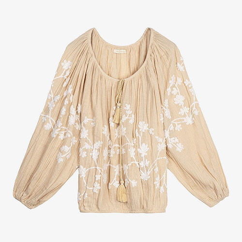 Natural Blouse Flocon