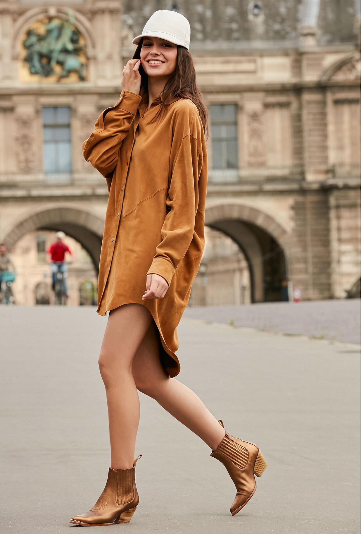 Camel Shirt Capra Mes Demoiselles Paris