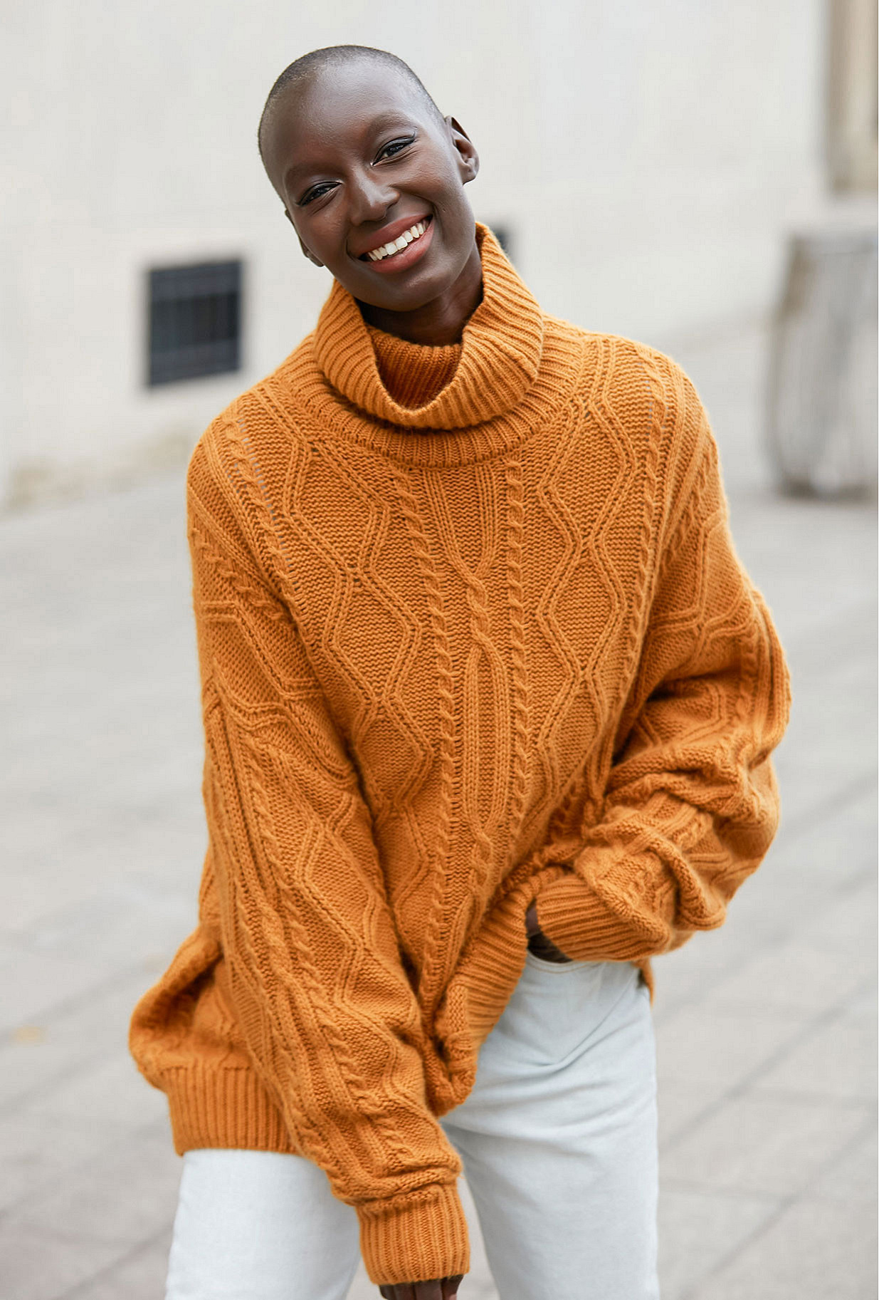 Sweater Clash Mes Demoiselles color Ocre
