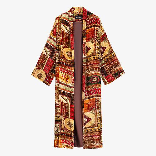 Kimono Balazet Mes Demoiselles color - red print -