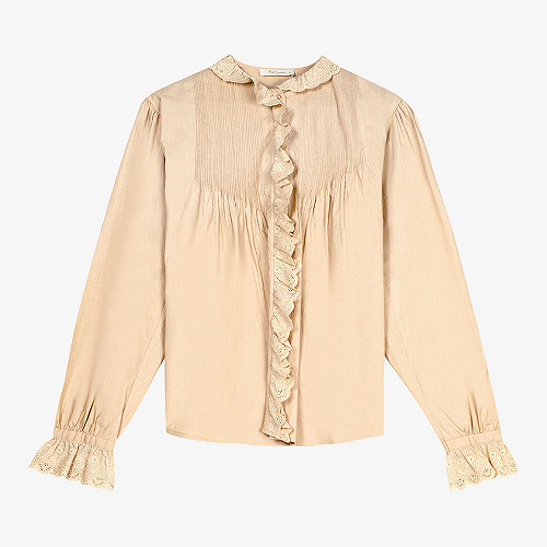 Shirt Casino Mes Demoiselles color Camel