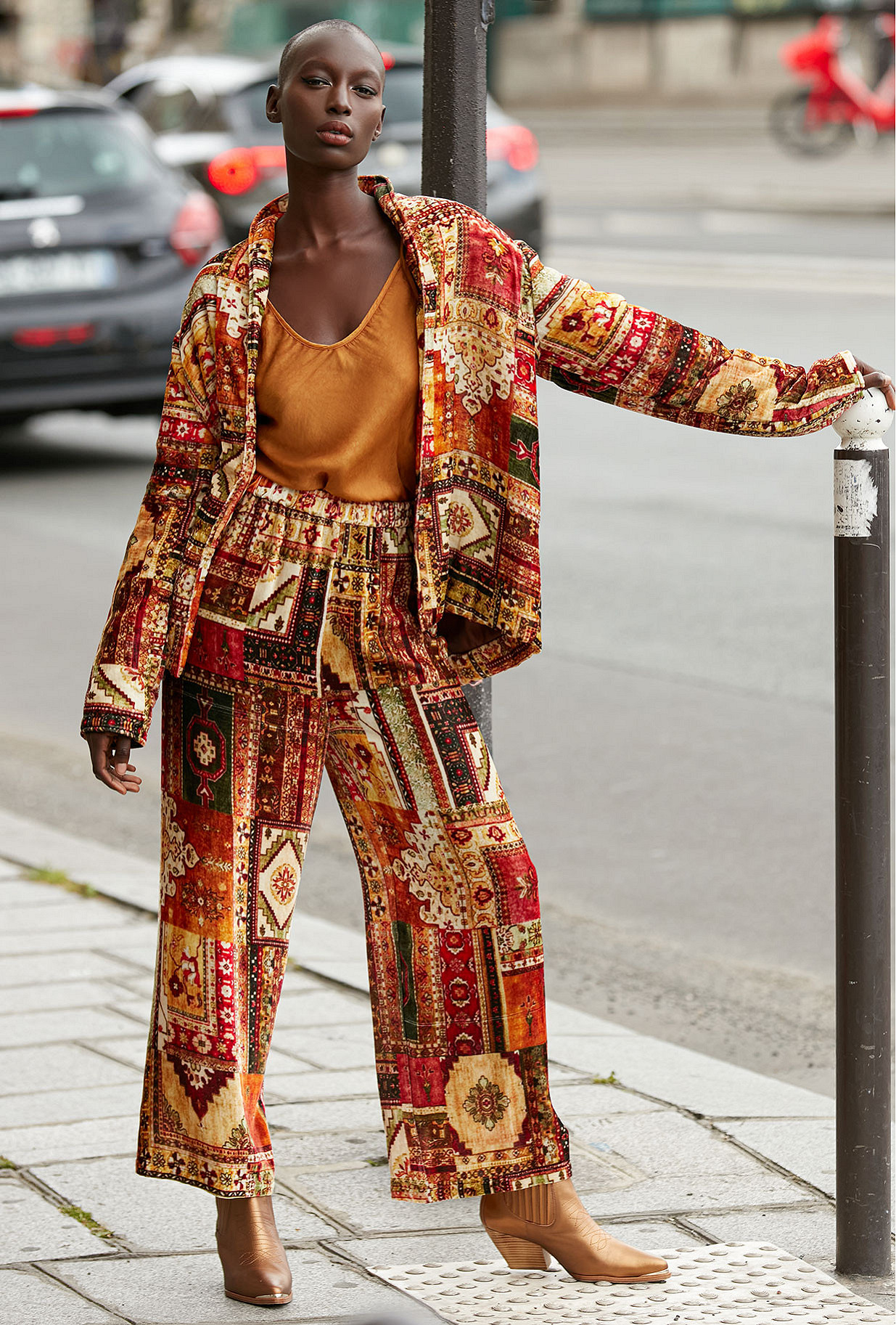 - red print - Jacket Bibibaff Mes Demoiselles Paris