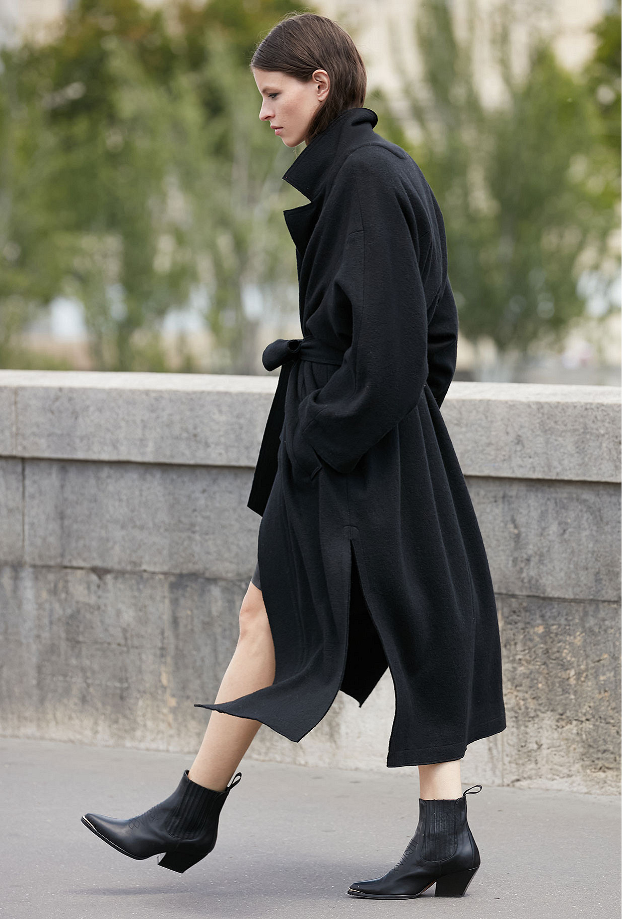 Black Coat Caribou Mes Demoiselles Paris