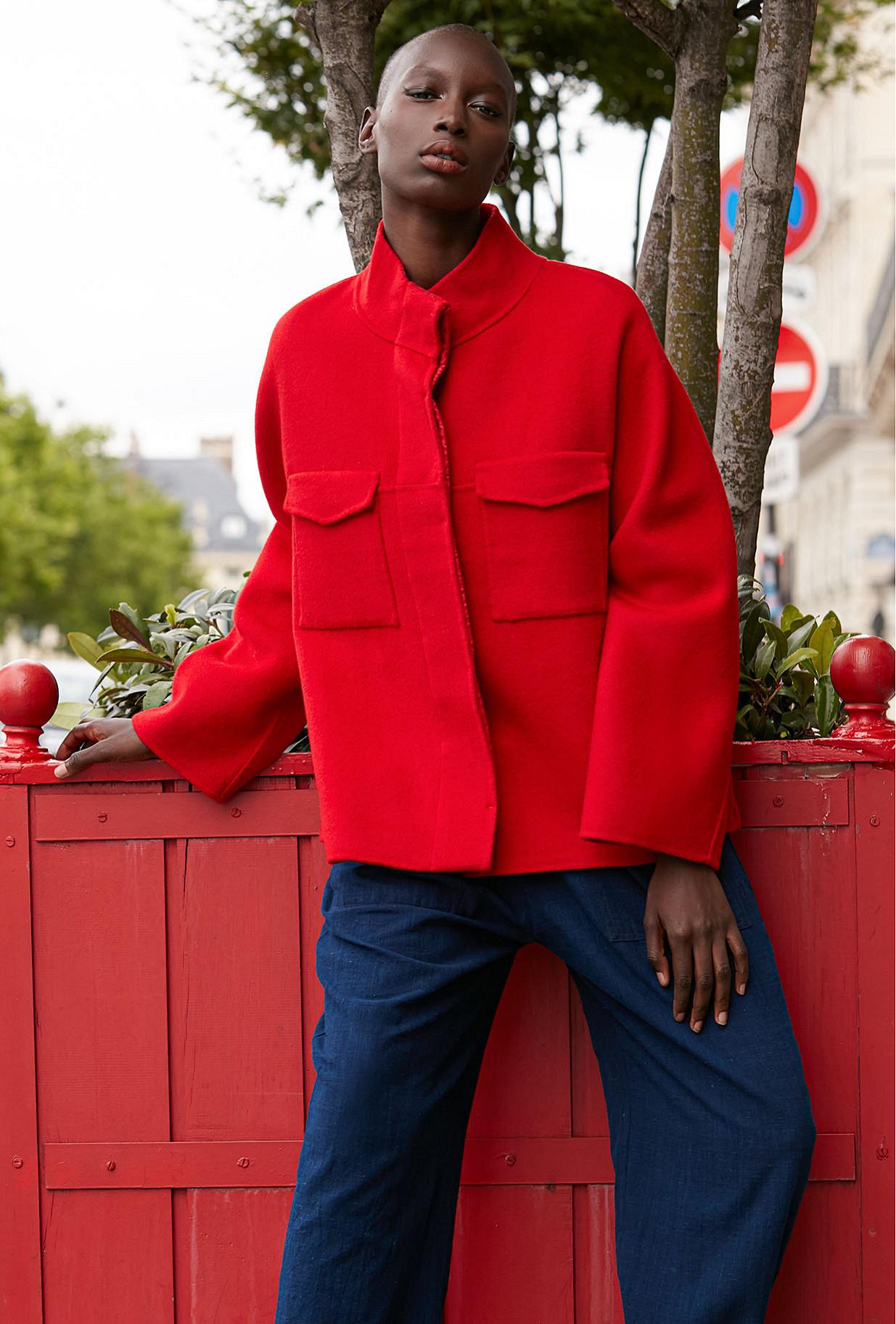 Red Jacket Canada Mes Demoiselles Paris