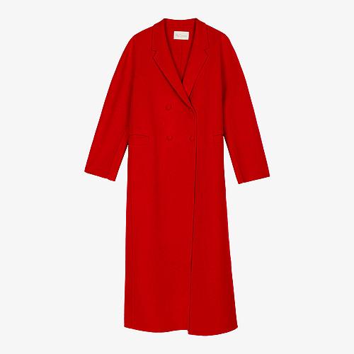 Coat Columbus Mes Demoiselles color Red