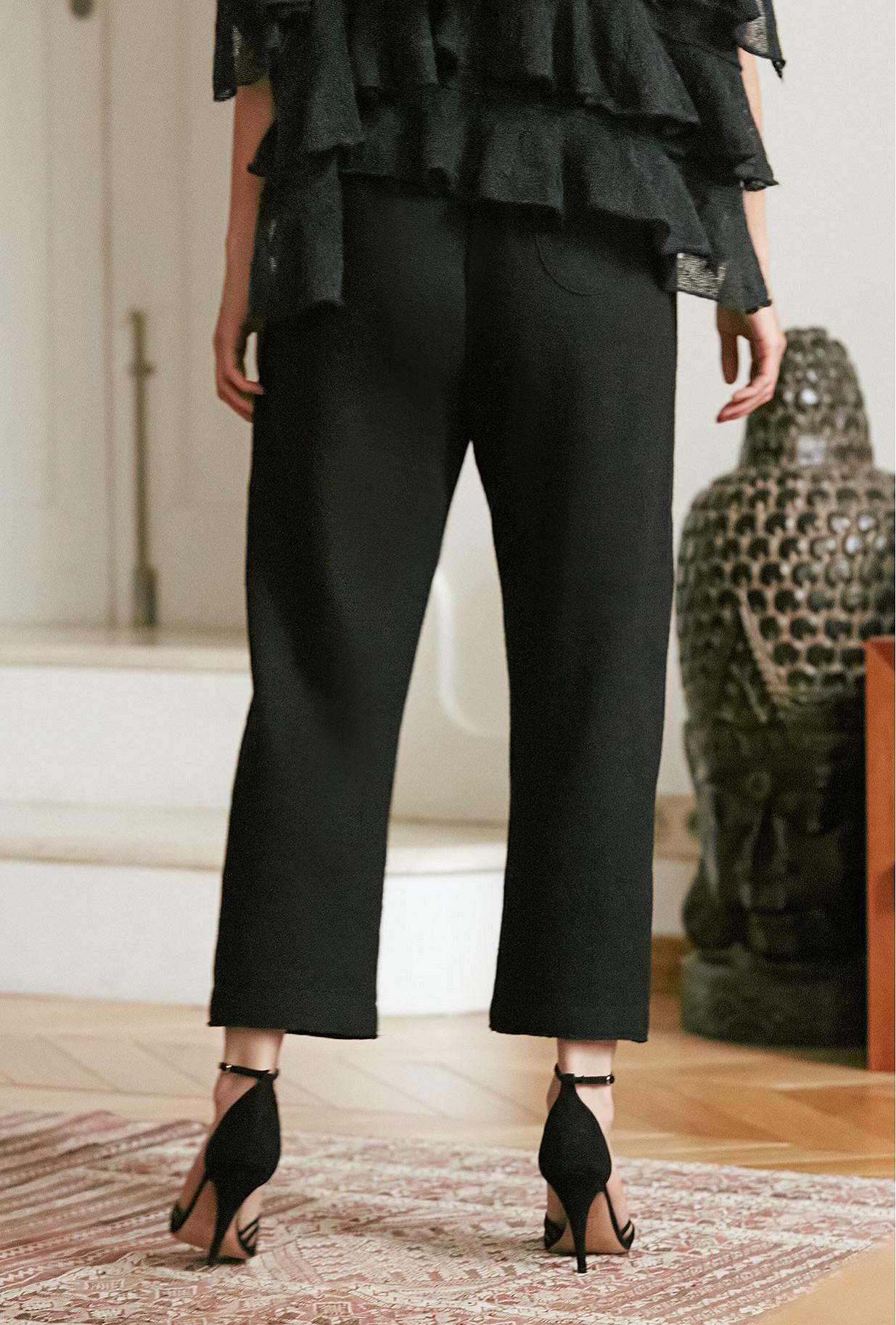 Pant Feminalia Mes Demoiselles color Black