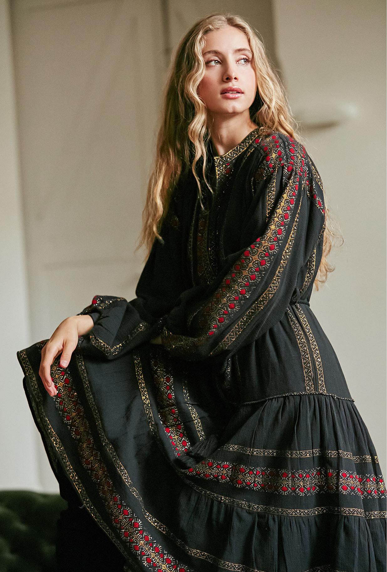 Dress Montserrat Mes Demoiselles color - Black combo -
