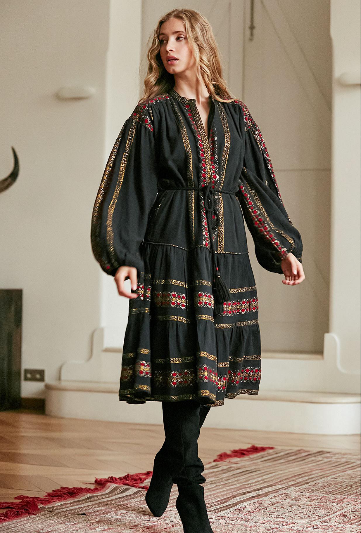 Robe - Noir Combo - Montserrat Mes Demoiselles Paris