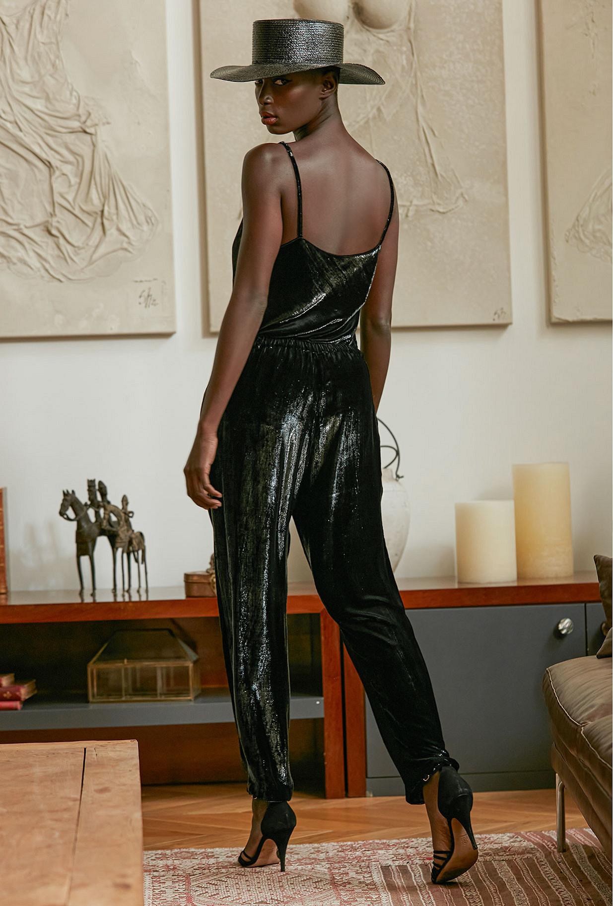 Pant Glad Mes Demoiselles color Black