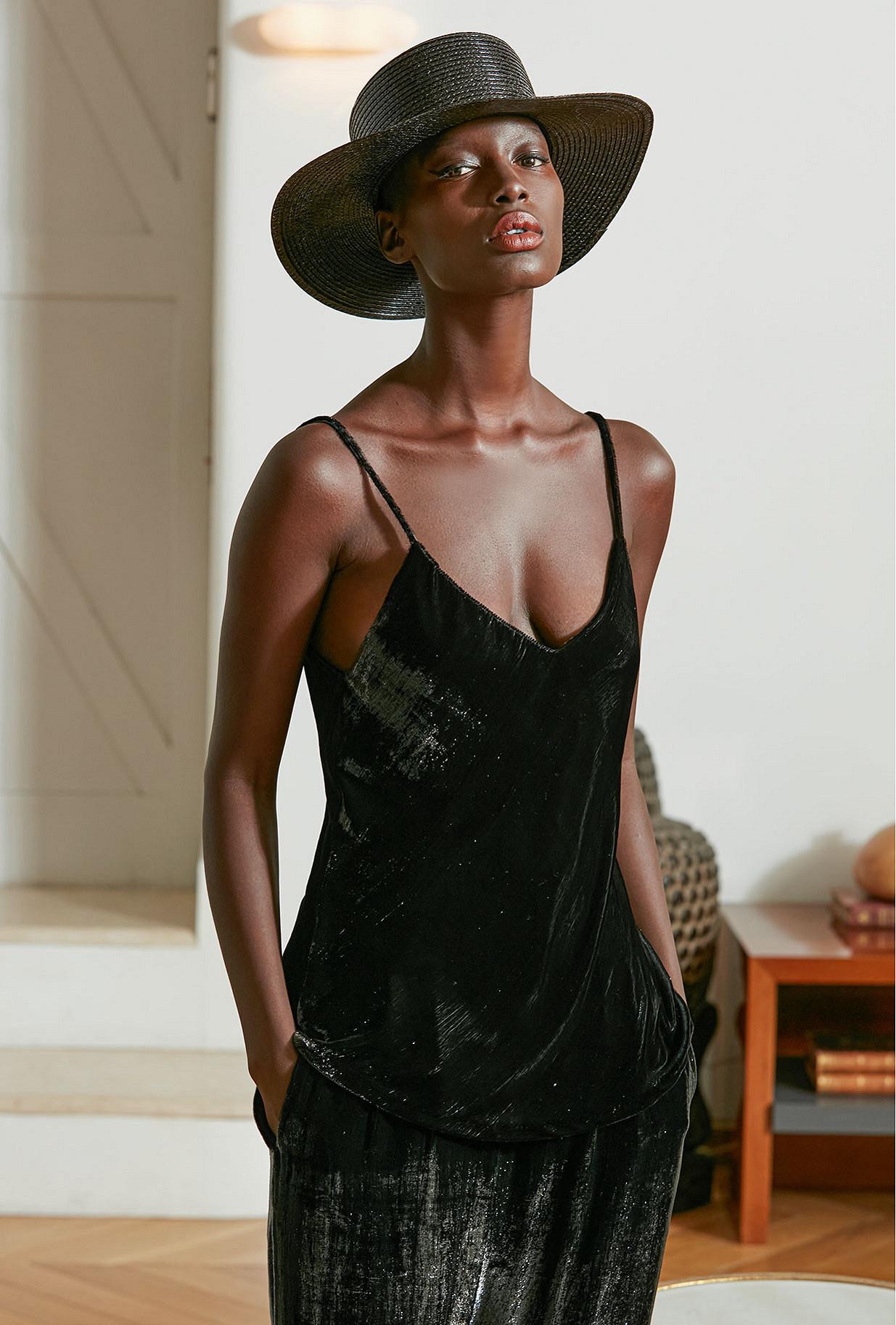 Top Glass Mes Demoiselles color Black