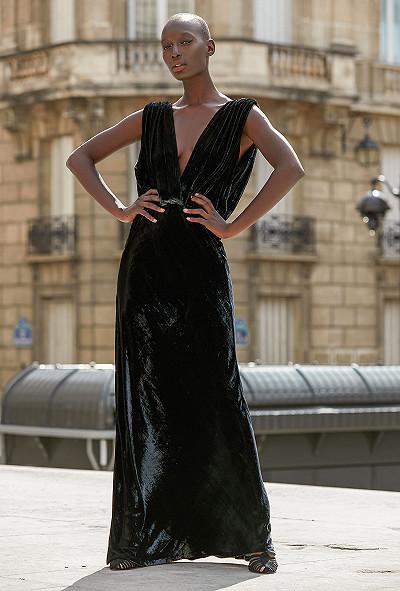Robe Noir Glamour Mes Demoiselles Paris