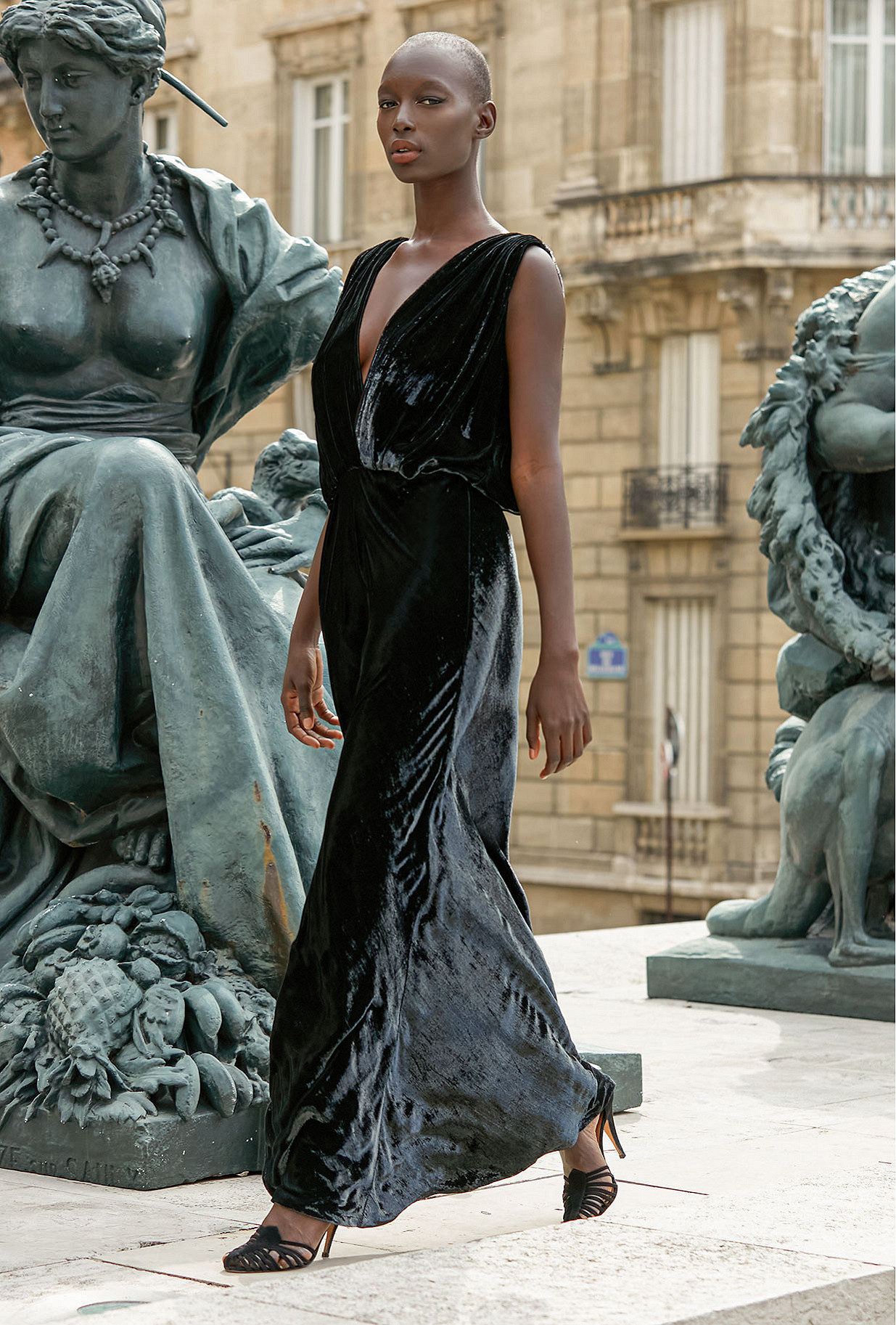 Black Dress Glamour Mes Demoiselles Paris