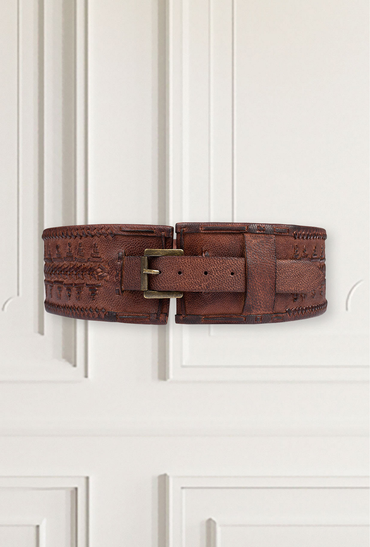 Ceinture Marron Connie Mes Demoiselles Paris