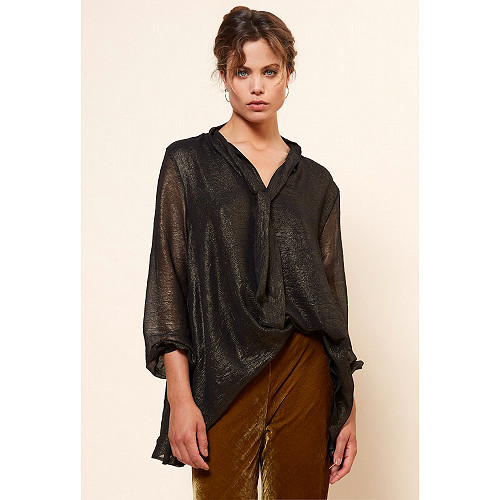 Blouse Reflet Mes Demoiselles color Bronze