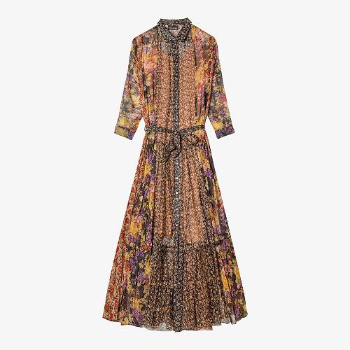 Dress Glaieul Mes Demoiselles color Multico print