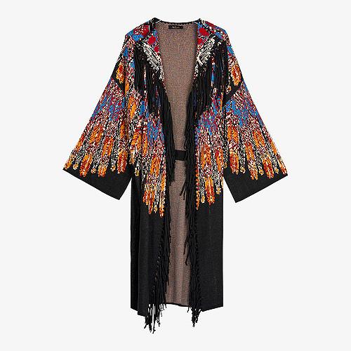 Kimono Pocahontas Mes Demoiselles color Black