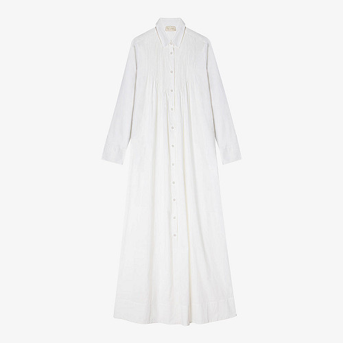 Dress Schara Mes Demoiselles color White