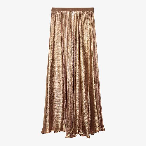 Skirt Baci Mes Demoiselles color Bronze