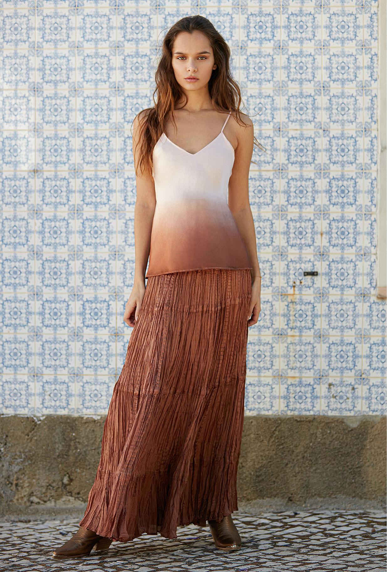 Skirt Bactriane Mes Demoiselles color Nude