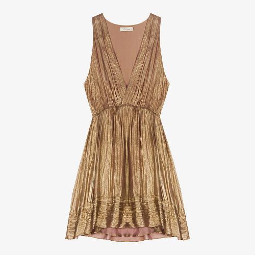 Robe Beyond Mes Demoiselles coloris Bronze
